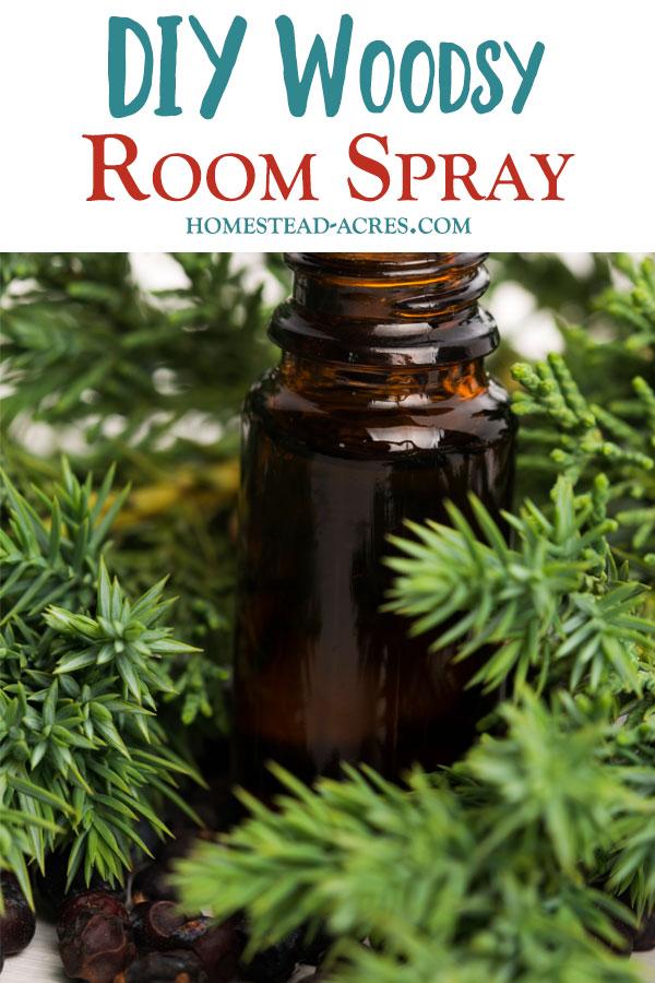 DIY Room Spray Wood Scent