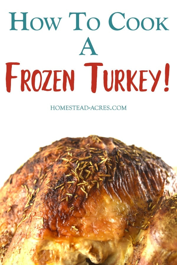 How To Cook A Turkey From Frozen