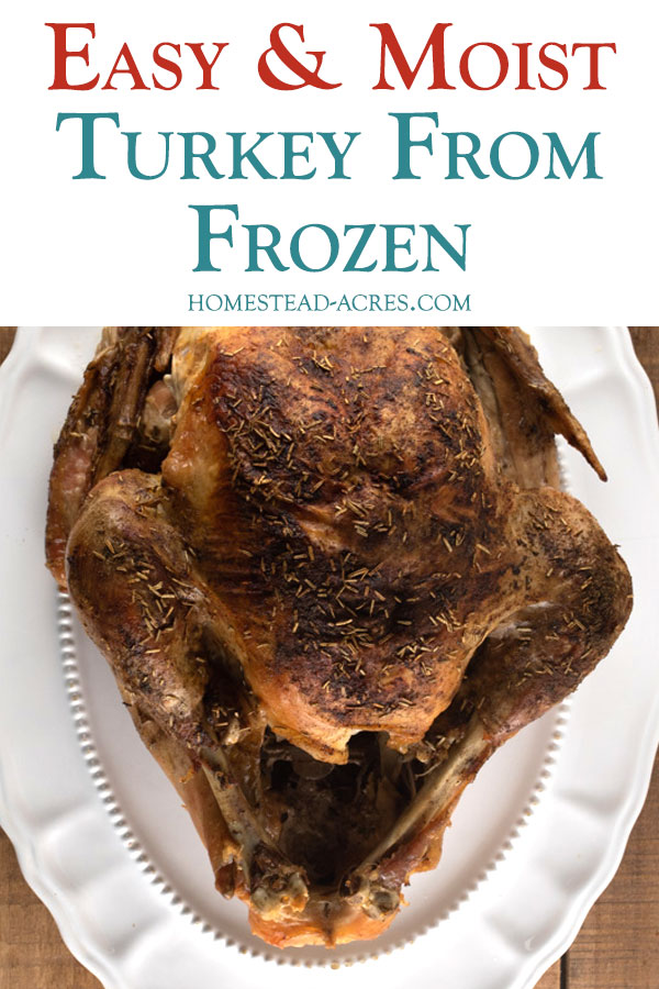 Cook A Turkey From Frozen