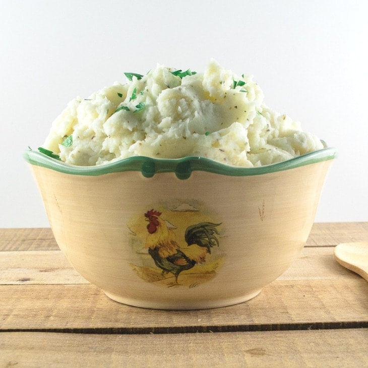 Easy Garlic Mashed Potatoes Recipe