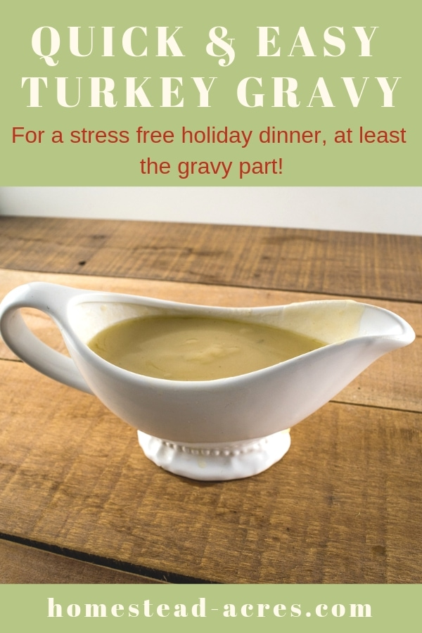 Quick And Easy Turkey Gravy Recipe