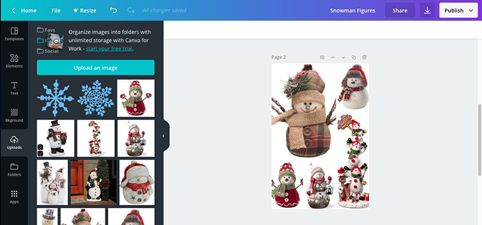 Making Product Image Collages With Canva