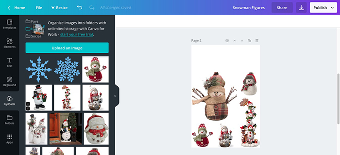 Making Product Image Collages Canva