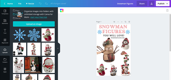 Making Product Image Collages In Canva