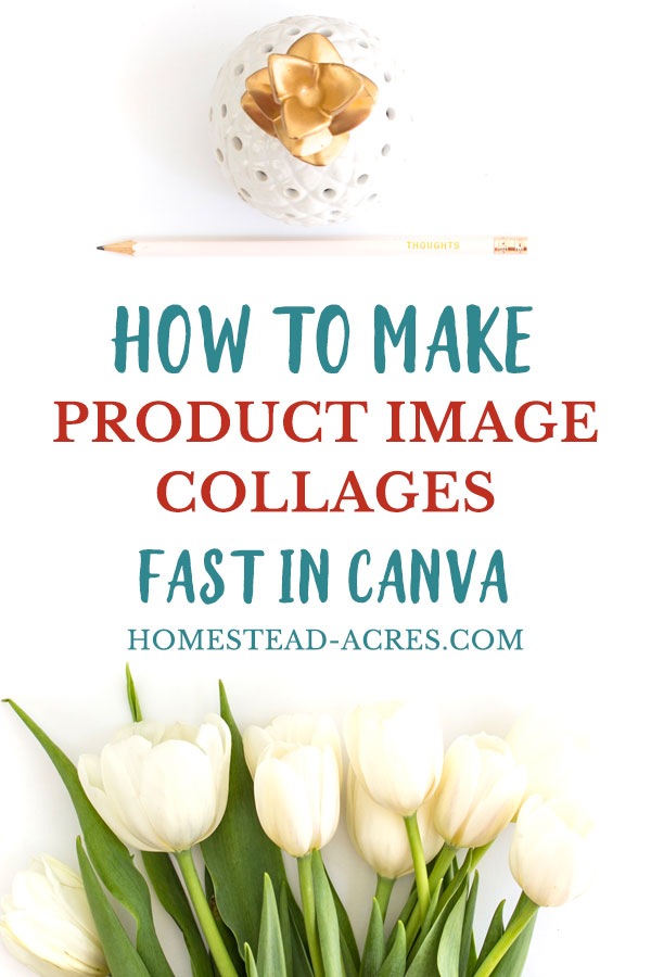 How To Make Product Image Collages In Canva