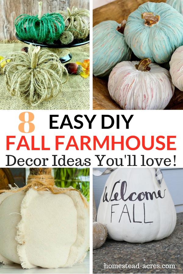 Easy DIY Fall Farmhouse Ideas