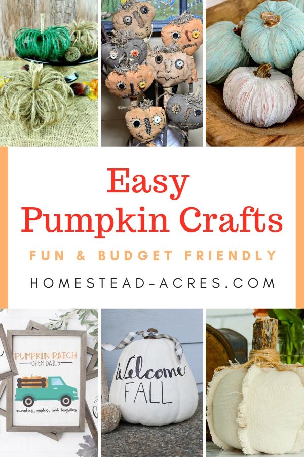 Easy Pumpkin Crafts
