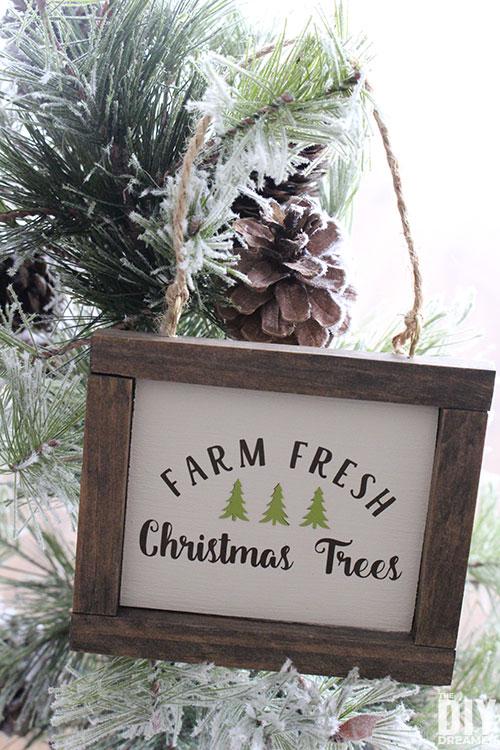 Christmas Tree Farm Ornament