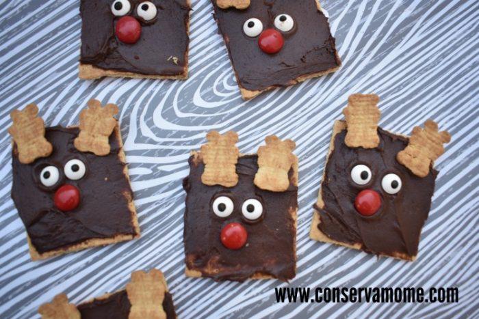 Easy No Bake Reindeer Cookies