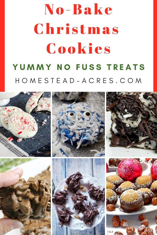 No-Bake Christmas Cookies No Fuss Treats