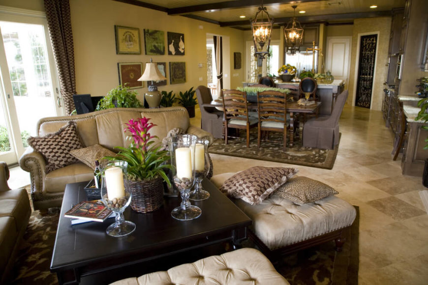 If Your Living Room Happens To Be Sharing Space With A Dining Room Or  Kitchen,