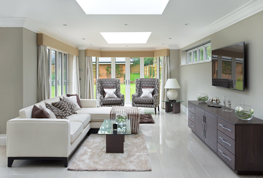 A Single Skylight Can Mean The Difference Between A Light And Dark Room.  The Skylight