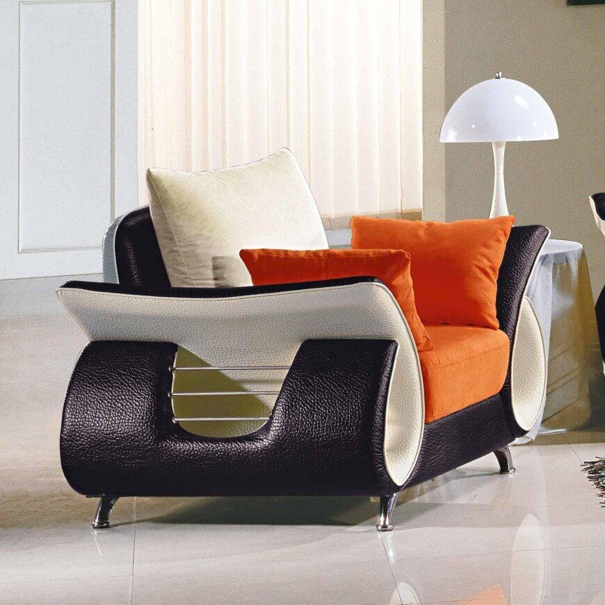 Perhaps Youu0027re Looking For Something More Modern. This Colorful, Sleek  Chair Is