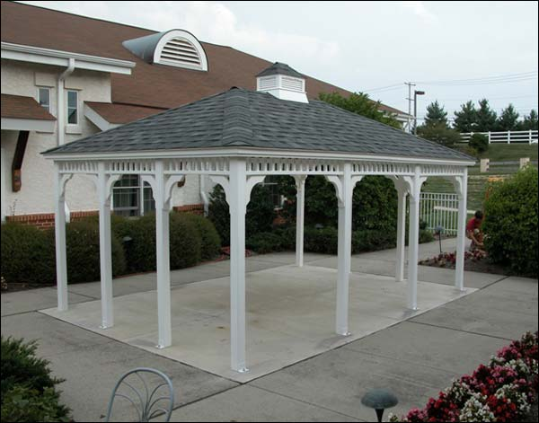 110 gazebo designs ideas wood vinyl octagon Pavilion style house plans
