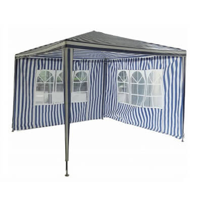 A simple fabric gazebo may be ideal for you if plan on camping, or if you're just not sure how often you'll use a gazebo. This is on the low end of the price spectrum, at under $100.
