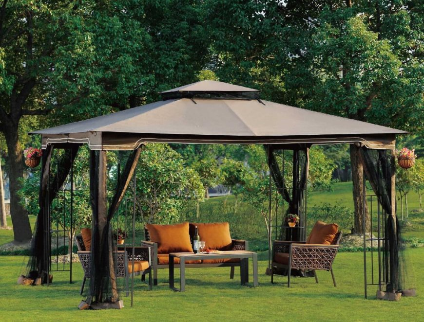 These Portable Gazebos Are A Great Way To Create A Focal Point Or Retreat  In Your