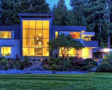 Modern 2-Story Prairie Style Home Design