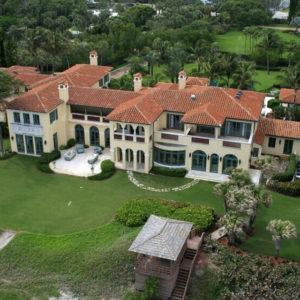 Florida beach front mansion