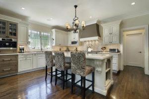 Luxury custom white kitchen design