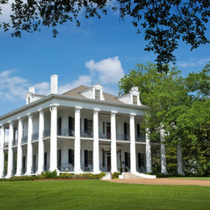Greek Revival Plantation Mansion