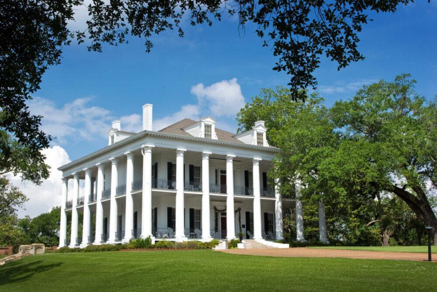 Greek Revival Plantation Mansion