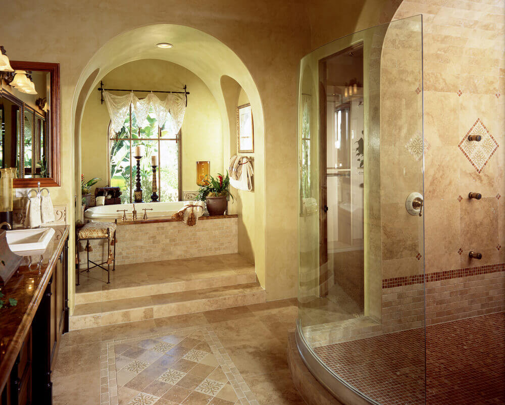 Luxury bathroom layout - Luxury Bathroom Layout 13