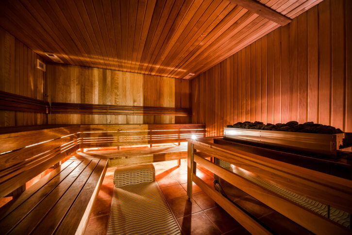 52 Dry Heat Home Sauna Designs Photos