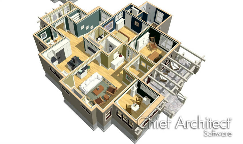 Apartment Design Software. Chief Architect Home Designer Software Apartment  Design O