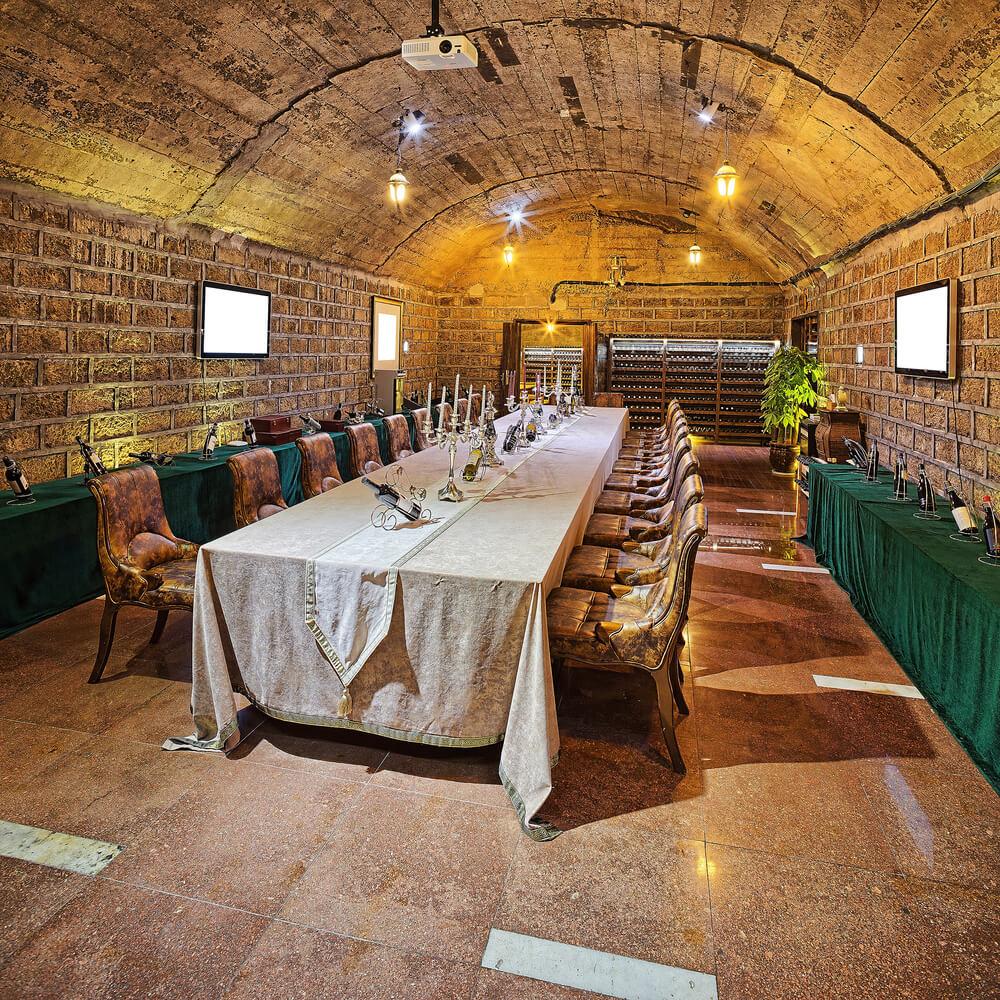 Custom Luxury Wine Cellar Designs - Home wine cellar design