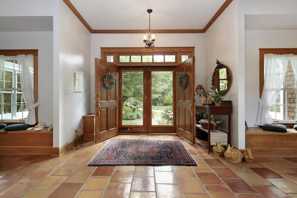 Houzz Open Foyer : Foyer design ideas for all colors styles and sizes
