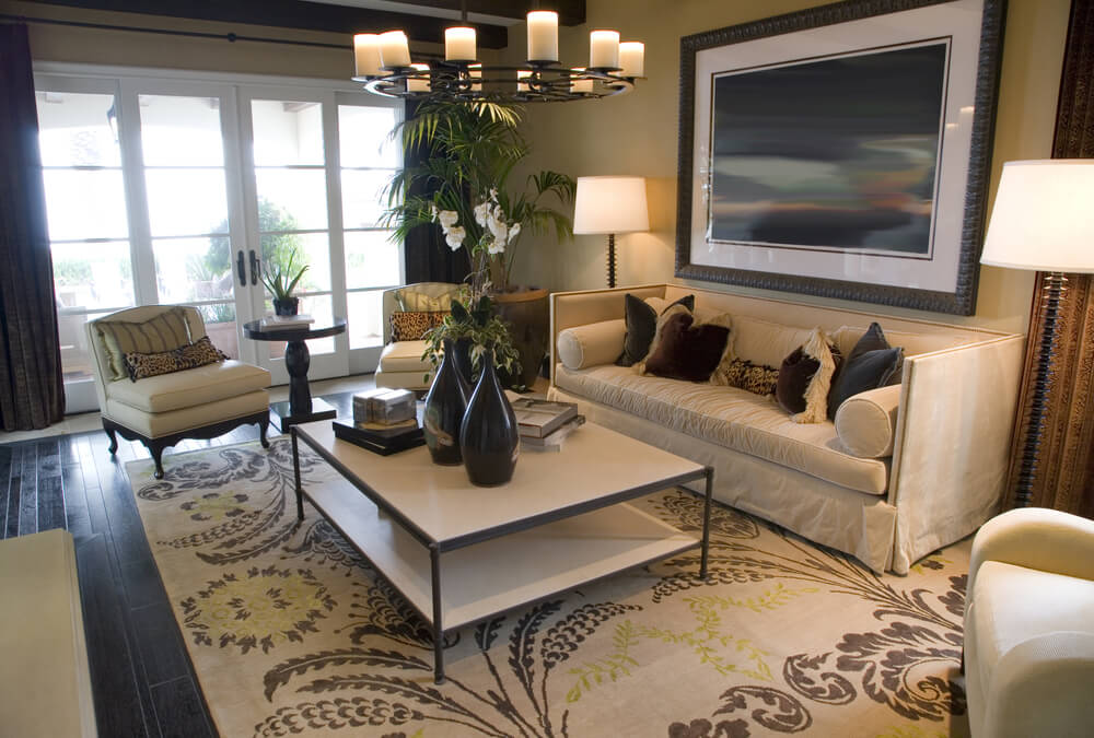 25 cozy living room tips and ideas for small and big for Living room mats