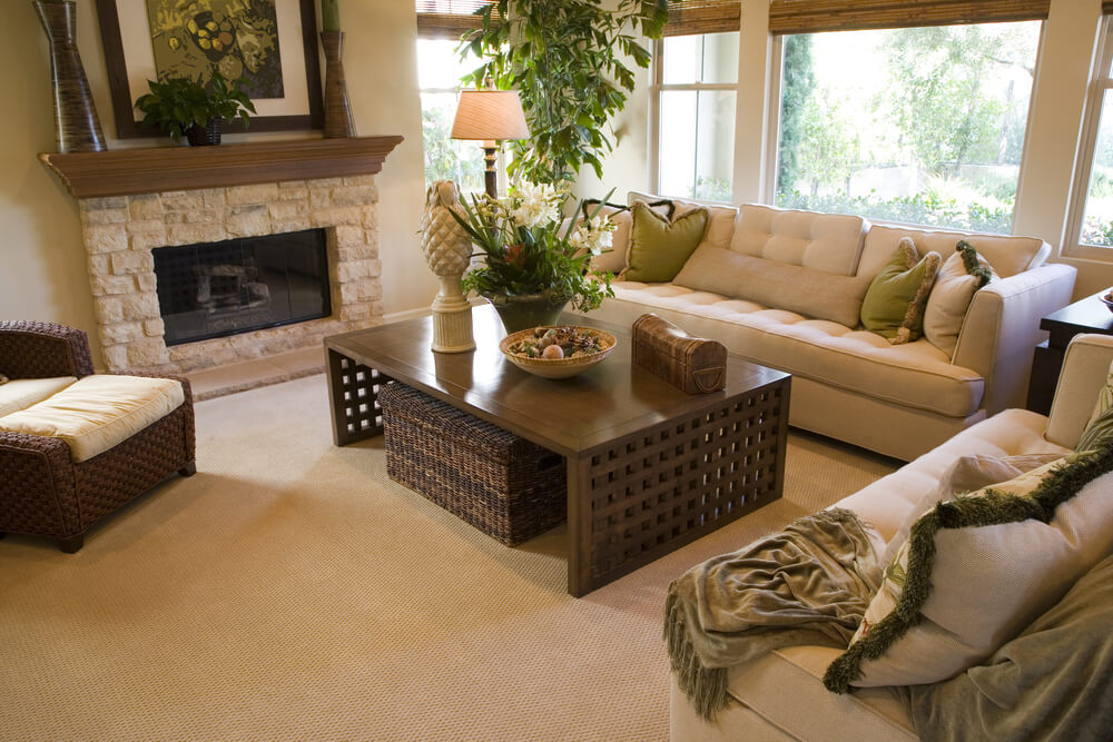 25 cozy living room tips and ideas for small and big for Table in living room