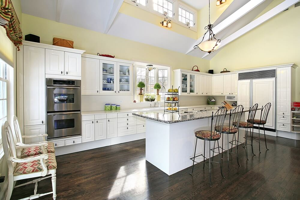 White Kitchen Maple Floors modren white kitchen maple floors and more on to decorating ideas