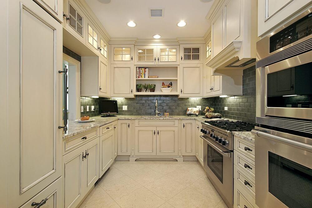 "New White Kitchen Designs 36 ""brand new"" all white kitchen layouts & designs (photos) | home"