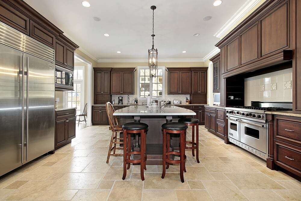 "Luxury Kitchen Designs 2014 53 spacious ""new construction"" custom luxury kitchen designs"