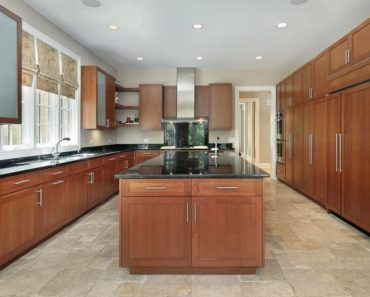Light wood luxury kitchen design