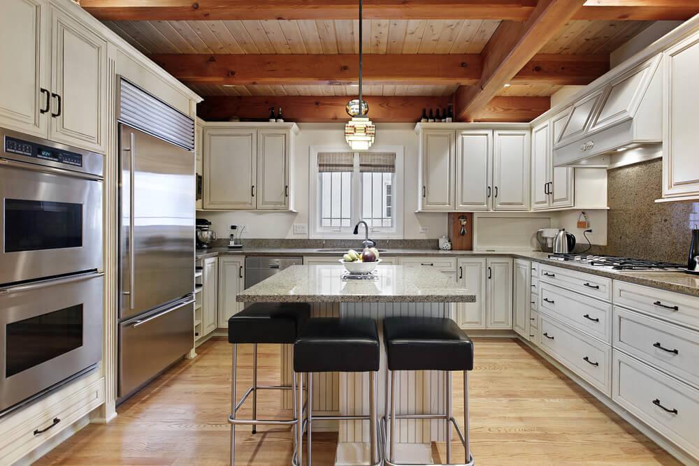 U Shaped Kitchen Layout With Island 1,000's of custom kitchen ideas
