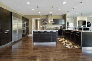 Dark kitchen cabinets kitchen design