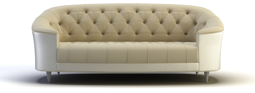 contemporary cabriole sofa design