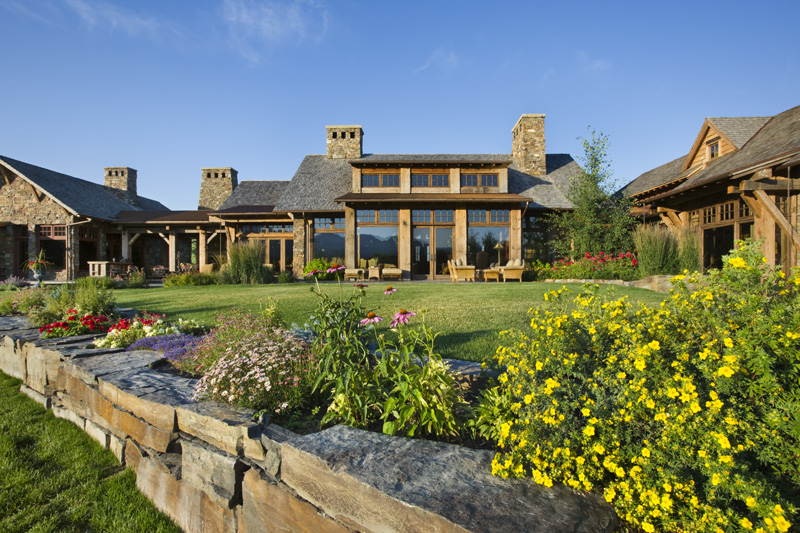 Old River Farm Residence A Stunning Custom Mountain Retreat Home Design