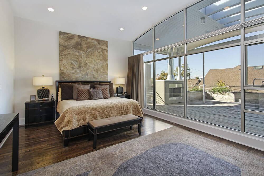 home design unique bedroom furniture   43 Spacious Master Bedroom Designs with Luxury Bedroom ...