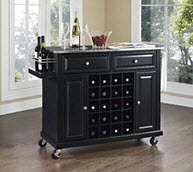 Wine Cart Kitchen Island
