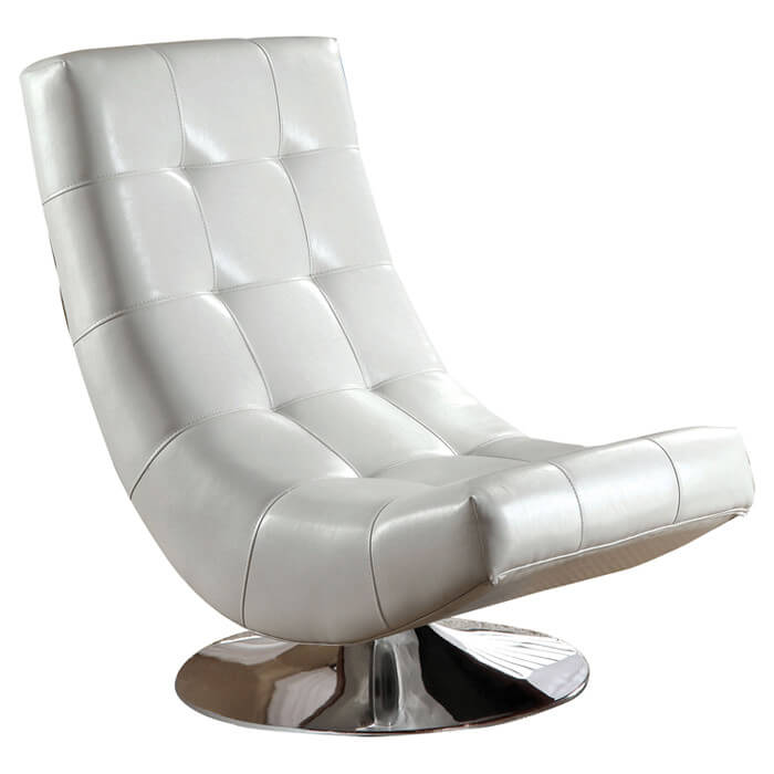 Curved, Armless Shape Of This Swivel Lounge Chair From Hokku Designs Is  Crafted For Extreme .