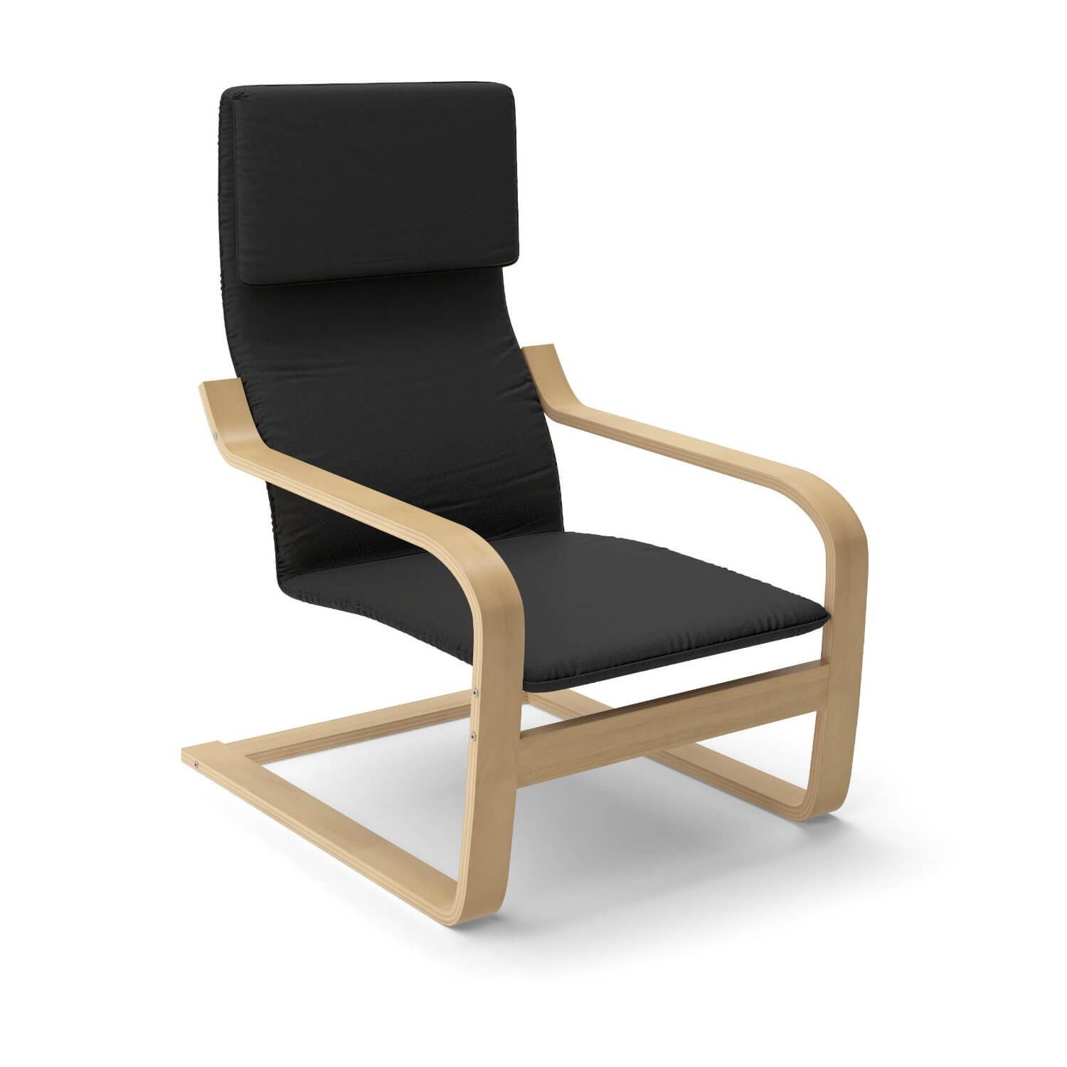 Here's a contemporary accent chair for casual rooms