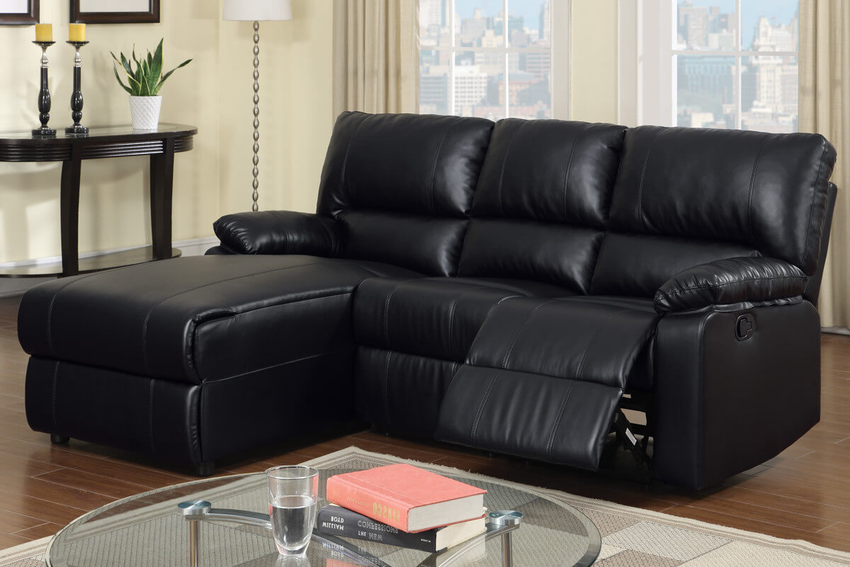 this recliner sectional and chaise blends the best in relaxation with style