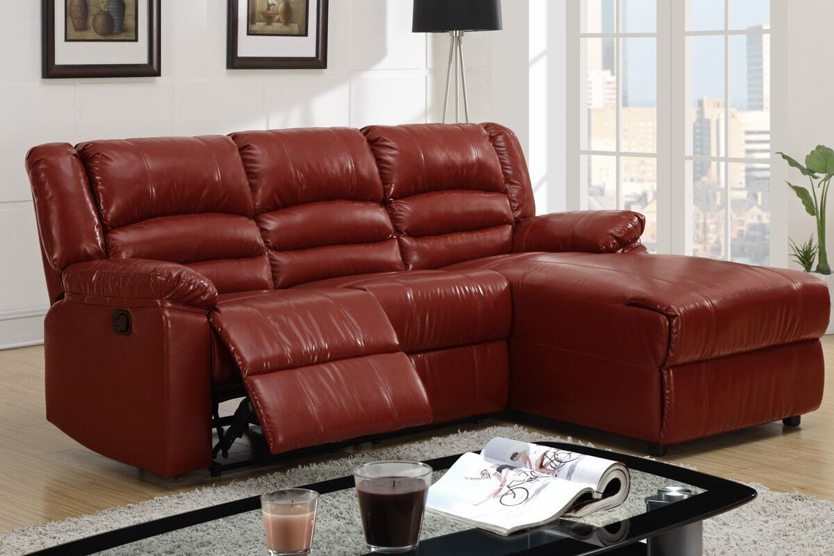 one classic aspect of a sofa is the recliner and this sectional indulges by creating
