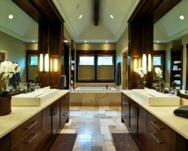 Beautiful master bathroom by Nordby Design Studios