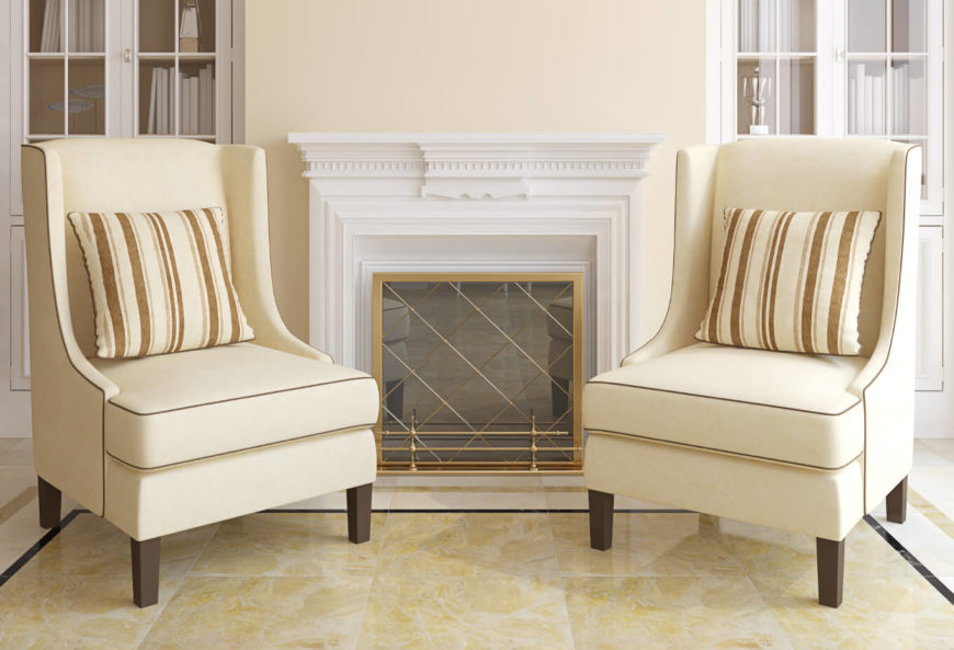 Featured Image 2 Accent Chairs in the Living Room