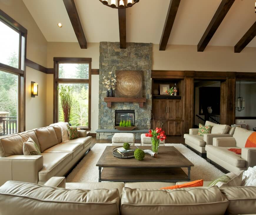 Custom home interior by nordby design studios Custom home interior design