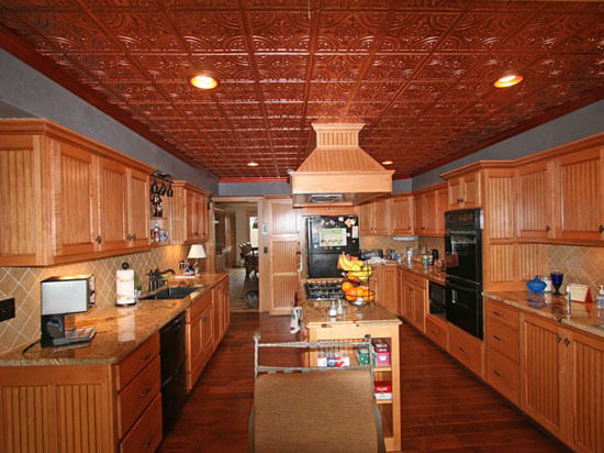 tin ceiling tiles in kitchen 16 decorative ceiling tiles for kitchens kitchen photo 8528